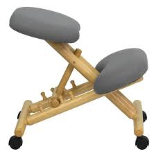 Ergonomic Office Kneeling Chair For Computer Comfort by Ergonomic Knee Chair U2013 Coredesign Interiors