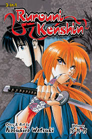 Rurouni Kenshin 3 In 1 Edition Vol 5