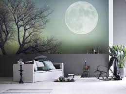 Full Moon Wall Mural Ideas