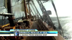 hurricane sandy sinks hms bounty 14 rescued from ship amid