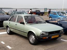 File Peugeot 505 SR Automatique 1979 Dutch licence registration