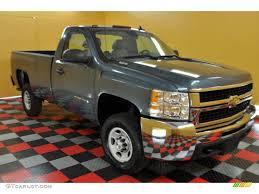 100 Chevrolet Truck Colors 2007 Blue Granite Metallic Silverado 2500HD Work
