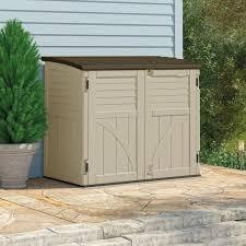 Suncast Vertical Storage Shed Home Depot by Garden Sheds 4 X 3 Interior Design