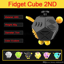 Fidget Cube Dodecagon 12 Sided Toy Relieves Stress And Anxiety For Children Adults Attention Click Minion Funny