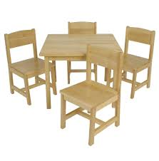 Child Size Wooden Table And Chairs   Tyres2c