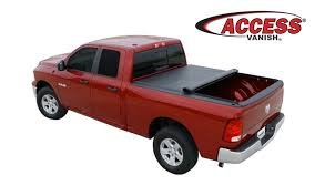 access vanish tonneau cover low profile soft roll up bed cover