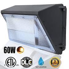 led wall pack lights 60watts 6000lumens led wall pack light
