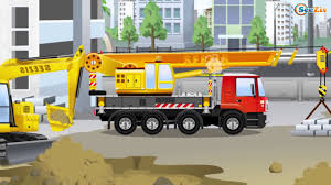 100 Cement Truck Video Car Cartoon With The Mixer 1 HOUR Kids All