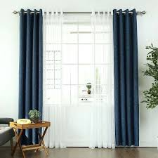 Crushed Voile Curtains Grommet by Lovely Sheer Curtains Over Blackout Curtains U2013 Muarju