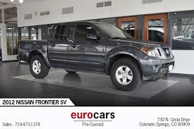 2012 Nissan Frontier SV Stock # E1021A For Sale Near Colorado ...