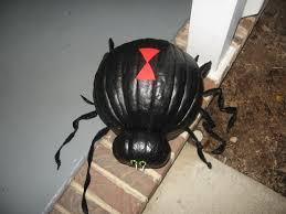Pinterest Dryer Vent Pumpkins by Black Widow Spider Pumpkin Halloween Ideas Pinterest Spider