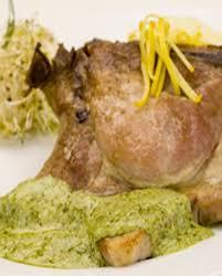 côtes de porc au pesto et citron pour 4 personnes recettes