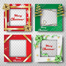 Paper Art And Craft Of Merry Christmas Border Frame Photo Design