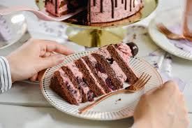 schoko kirsch torte