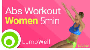 Abs workout for women at home 5 minute ab exercises no equipment