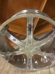 100 Ford Truck Rims New 24 Sevizia Chrome 6Spoke Wheels BIG Lip Dodge