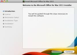 fice 2011 Installing for Mac