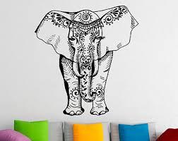 Elephant Wall Decal Elegant Art