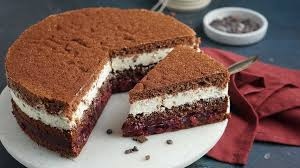 stracciatella kirsch torte