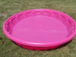 Image Of Large Hard Plastic Kids Pool
