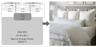 Ways to Arrange Bed Pillows Superior Custom Linens