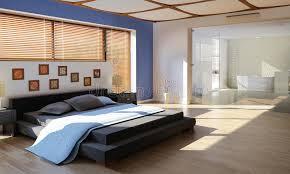 chambre avec bain chambre à coucher de luxe moderne avec la salle de bains