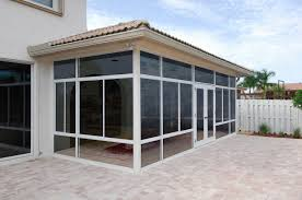 Patio Mate Screen Enclosure by Hybrid Straight Solid Roof Solarium Or Patio Enclosure