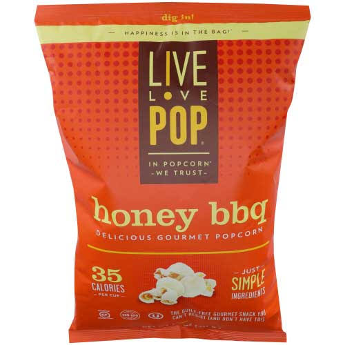 Live Love Pop Popcorn, Delicious Gourmet, Honey BBQ - 4.4 oz