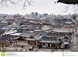 100 South Korean Houses Traditional House Jeonju Hanok Village Editorial