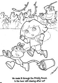 Dora Princess Coloring Page