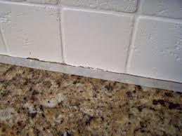 Tiling Inside Corners Backsplash by Older And Wisor Painting A Tile Backsplash And More Easy Kitchen