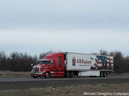 100 Cr England Truck CR Western Star 5700XE With Veterans Themed Trai