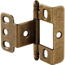 cabinet door full wrap non mortised decorative butt hinge with