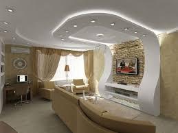 оформление потолка в гостиной варианты отделки