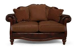 mathis brothers sofa and loveseats traditional 68 loveseat in brown mathis brothers furniture
