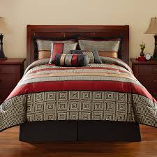 Black And Red Bedroom Ideas by Plain Red Bedspread Tags Adorable Red Bedroom Set Superb Brown