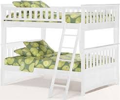 Cool Full Bunk Bed White Full Over Full Bunk Beds Loft