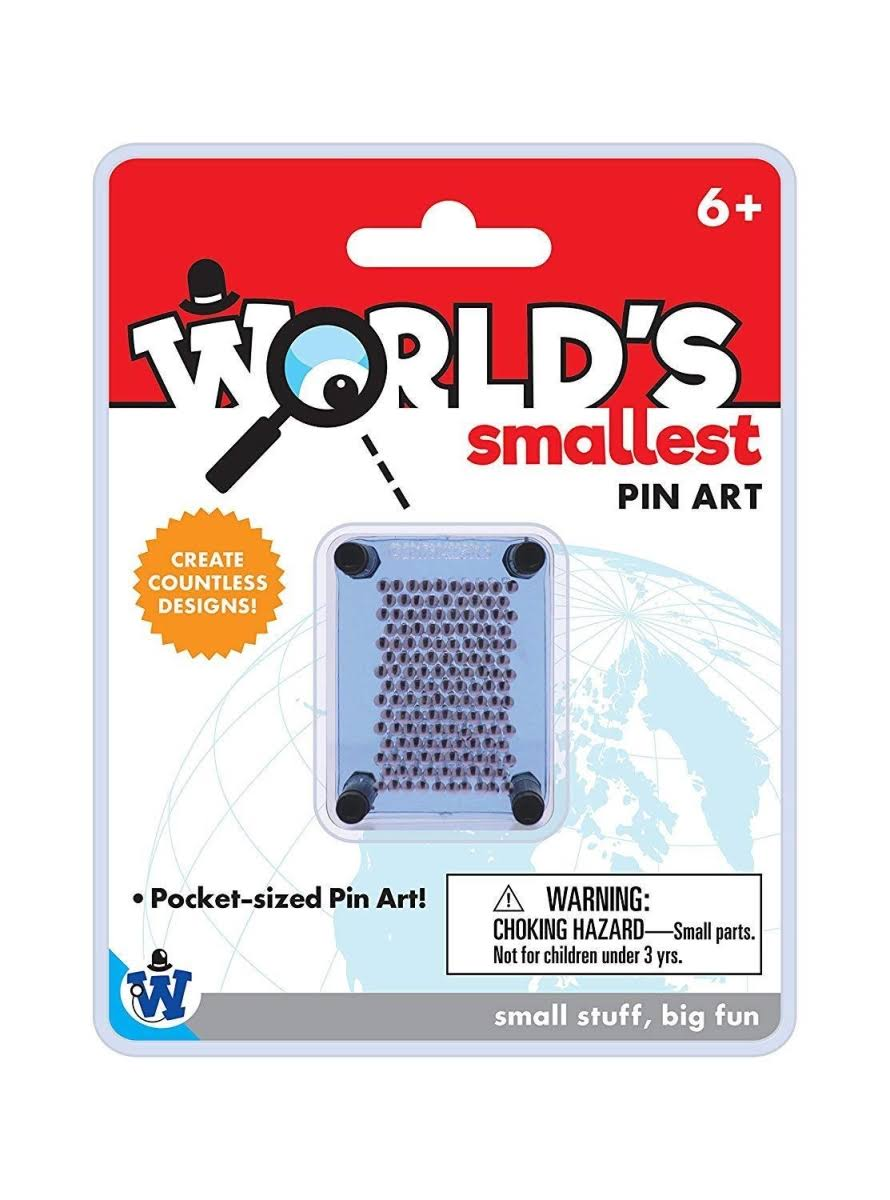 Westminster 4035 Worlds Smallest Pin Art - Pack of 12