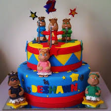 Alvin And The Chipmunks Cake Decorations by Alvin And The Chipmunks Cake Cake By Novita Cakesdecor