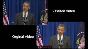 Obama Kicks Door Open Original Video parison