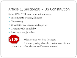 ARTICLE 1 SECTION awesome Article 1 Section 10 Constitution