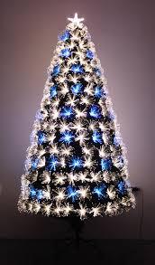 Tabletop Fibre Optic Christmas Tree by Fibre Optic Decorated Christmas Tree U2013 Decoration Image Idea