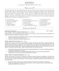Police Officer Cover Letter Examples No Experience Letters