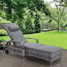 Gymax Adjustable Outdoor Patio Chaise Lounge Cushioned Recliner ... Giantex Outdoor Chaise Lounge Chair Recliner Cushioned Patio Garden Adjustable Sloungers Outsunny Recling Galleon Christopher Knight Home 294919 Lakeport Steel Back Shop Kinbor 2 Pcs Allweather Affordable Varietyoutdoor Pool Fniture Cosco Alinum Serene Ridge Bestchoiceproducts Best Choice Products 79x30in Acacia Wood Baner Ch33 Cambridge Nova White Frame Sling In Chosenfniture