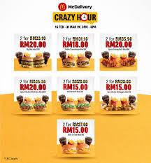 McDonald's Malaysia Promotion McDelivery Crazy Hour Deals ... Mcdonalds Card Reload Northern Tool Coupons Printable 2018 On Freecharge Sony Vaio Coupon Codes F Mcdonalds Uae Deals Offers October 2019 Dubaisaverscom Offers Coupons Buy 1 Get Burger Free Oct Mcdelivery Code Malaysia Slim Jim Im Lovin It Malaysia Mcchicken For Only Rm1 Their Promotion Unlimited Delivery Facebook Monopoly Printable Hot 50 Off Promo Its Back Free Breakfast Or Regular Menu Sandwich When You