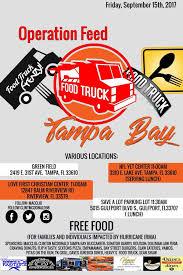 100 Food Trucks In Tampa DT Clinton McDonald Helps Arrange Free Food Trucks Bucs