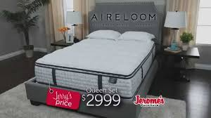 Jeromes Bedroom Sets by Jerome U0027s Furniture Featuring Aireloom Mattresses Youtube