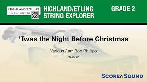 Twas The Night Before Halloween Book by Twas The Night Before Christmas Arr Bob Phillips U2013 Score U0026 Sound