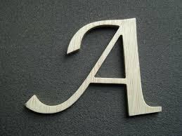 lettre cuisine en bois lettre deco murale lettre en bois daccorative murale a peindre ou