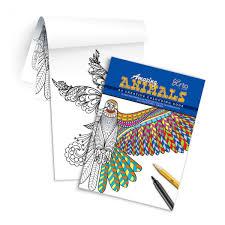 Creative Colouring Book Amazing Animals